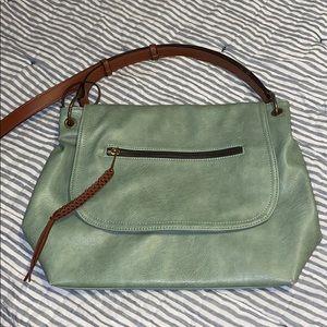 Handbags - Faux Leather Bag EUC